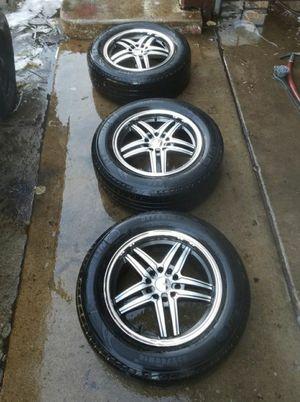"16"" wheels w. Tires for Sale in Denver, CO"