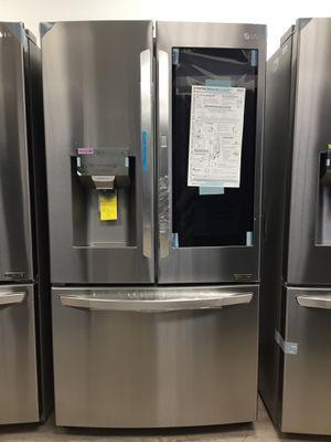 LG Refrigerator InstaView™ Door-in-Door® 3-French Door/ New Product $1650 for Sale in Buena Park, CA