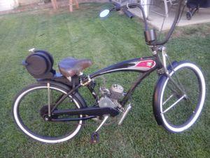 "This is a true ""Rat Rod"" motorized bike - designed by Rat Bastard Designs for Sale in Riverside, CA"