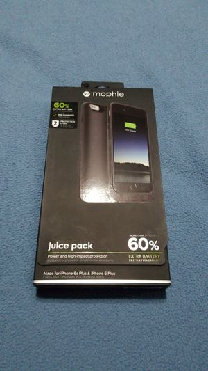 iPhone 6s Plus or 6 plus Morphie for Sale in Wichita, KS