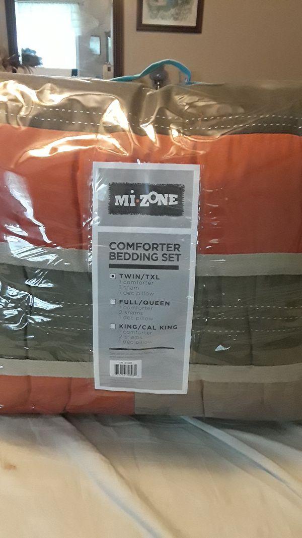 Twin/TXL Mi Zone Comforter Bedding Set