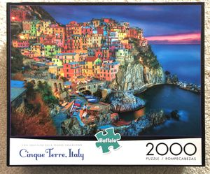 2000 Piece Jigsaw Puzzle - Cinque Terre, Italy for Sale in Lutherville-Timonium, MD