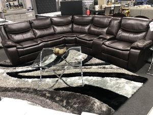 3PC Sofa Sectional Leather Brown on SALE 🔥🚚 for Sale in Fresno, CA