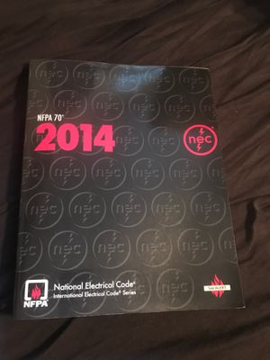 NEC2014 Nfpa work book for electrical code for Sale in Corona, CA