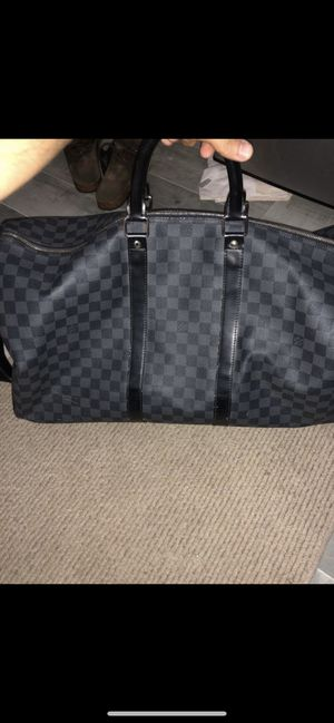 Louis Vuitton Keepall Bandouliere Damier Graphite 55 Black/Graphite for Sale in Lakeland, FL