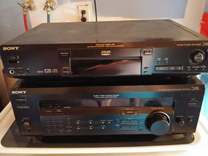 Sony received with Sony DVD player. Sony subwoofer included for Sale in Delhi, CA
