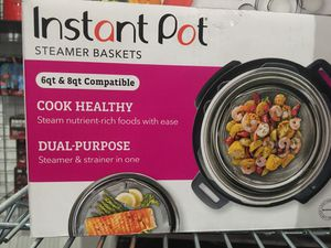 Instant pot steamer baskets 2 piece for Sale in Garland, TX