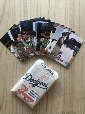 2002 Dodgers baseball card set for Sale in Los Angeles, CA