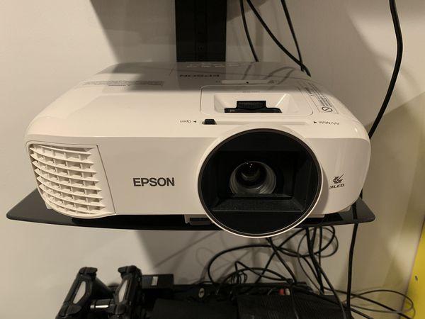 Cinema 2100 1080p 3LCD Projector - White
