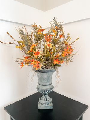 Hand Made Faux Fall Floral Arrangement for Sale in Lawrenceville, GA