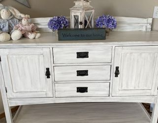 Custom Finished Shabby Chic Buffet for Sale in Carbonado,  WA