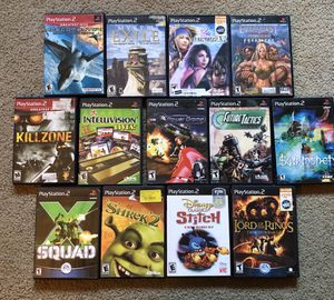 PS2 Games Lot for Sale in Lakewood, CA