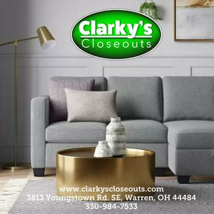 New in box! Project 62 Vorster Sofa Couch with chaise storage! SALE $399.99 for Sale in Warren, OH