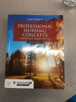 Professional Nursing Concepts: Competencies for Quality Leadership 4th edition for Sale in Port St. Lucie, FL