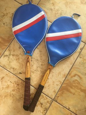 "Old ""vintage"" wooden tennis rackets! for Sale in Orlando, FL"
