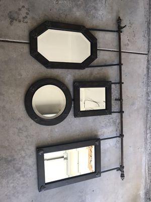 Wall Mirror set 5' x 3' for Sale in Modesto, CA