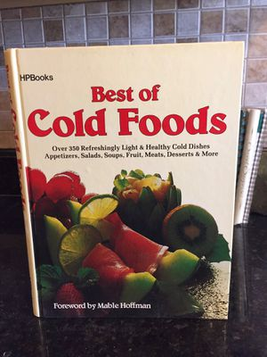 The best of cold foods by Manble Hoffman for Sale in Ridgecrest, CA