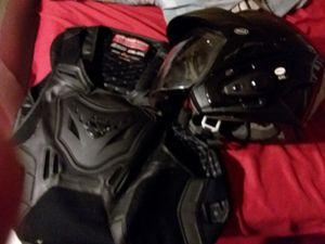 MOTORCYCLE HELMET AND VEST for Sale in Carol City, FL