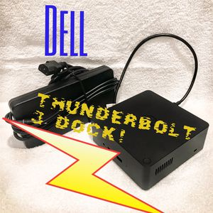 Dell TB16 KA16 Thunderbolt 3 Dock with 240W Adapter for Sale in Dallas, TX