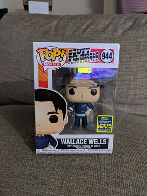 Wallace Wells SDCC 2020 Funko pop for Sale in Irvine, CA