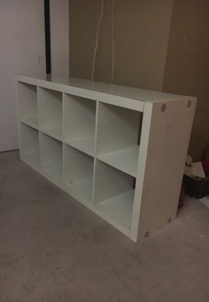 White tv stand/ shelving unit for Sale in Playa del Rey, CA