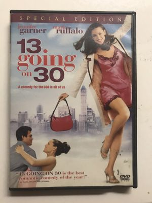 13 Going on 30 DVD Movie for Sale in West Covina, CA