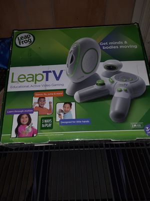 Leap TV by leap frog for Sale in Hannibal, MO