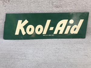 Old Kool-Aid Rack Sign for Sale in Seattle, WA