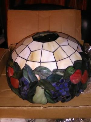 Aztec brand Tiffany style, glass hanging lamp for Sale in Byrnes Mill, MO