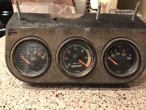 VDO gauges - Volkswagen VW - oil, vacuum, temperature for Sale in Riverside, CA