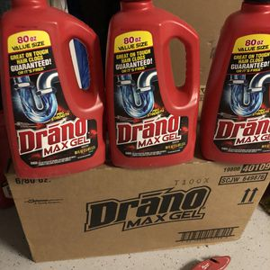 Drano max gel for Sale in Goodyear, AZ