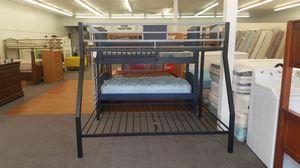 FULL OVER TWIN BUNK BED/ CAMAS DE VENTA for Sale in Denver, CO