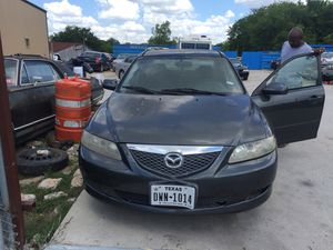 2006 Mazda 6 good engine, good trans. Good body parts for Sale in Houston, TX
