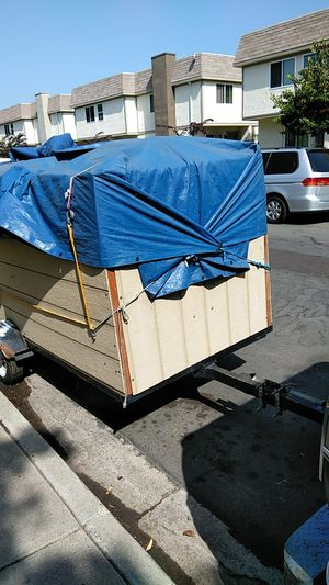 Trailer 8/4 very good condition don't need anymore for Sale in San Diego, CA