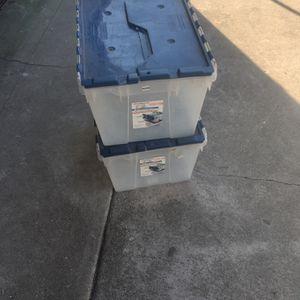 2 Storage Container Good Condition $10 Both for Sale in Pico Rivera, CA