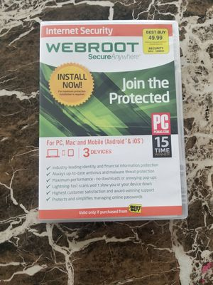 Webroot antivirus for Sale in Vancouver, WA