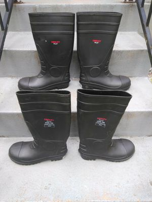 RUBBER WORK BOOTS SIZE 11 AND 7. READ DETAILS for Sale in St. Louis, MO