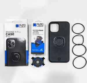 Quad Lock handlebar/stem mount and iPhone 11 Pro case for Sale in Belmont, CA