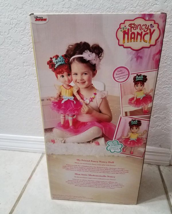 "Fancy Nancy 18"" Poseable doll"