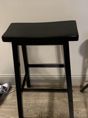 29 inch wooden barstool black 10 dollars for Sale in WHT SETTLEMT, TX