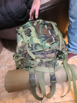 Specialty Defense Systems Woodland Camo Backpack for Sale in Mesa, AZ