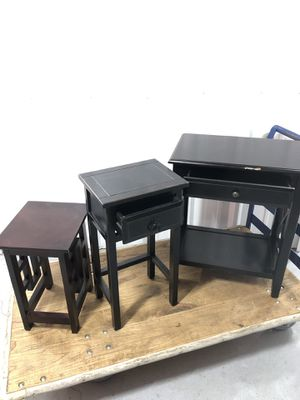 End tables with drawers for Sale in Nashville, TN