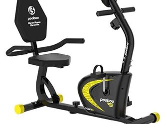 Pooboo Exercise Bike- 300lb Capacity for Sale in Fresno,  CA