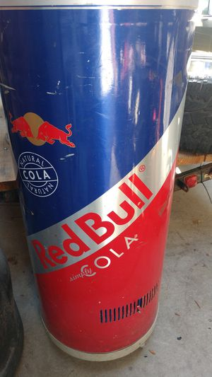 Red bull freezer for Sale in Lathrop, CA