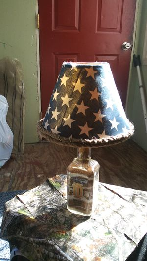 """""""Oathkeeper"""" Hand Engraved Glass Lamp w/ Shade for Sale in Chesterfield, VA"""