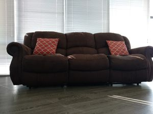3 Seat Recliner sofa (no pets) for Sale in Nashville, TN