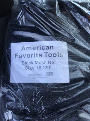 16X20 mesh tarp for Sale in Riverside, CA
