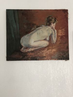 Rare oil painting on canvas for Sale in Los Angeles, CA