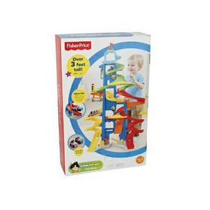 *NEW* Fisher Price Little People City Skyway Race Car Development Brain child kid toy for Sale in Miami, FL