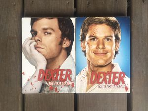 Dexter Complete Seasons 1 & 2 DVD Sets - Excellent Condition for Sale in Chicago, IL